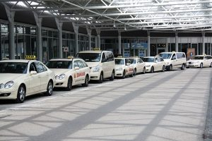 Luchthaven taxi